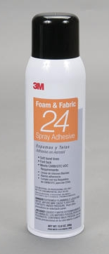 07862-3M Foam & Fabric Spray 24 Adhesive Orange
