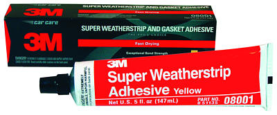 08001-3M Super Weatherstrip & Gasket Adhesive-yellow