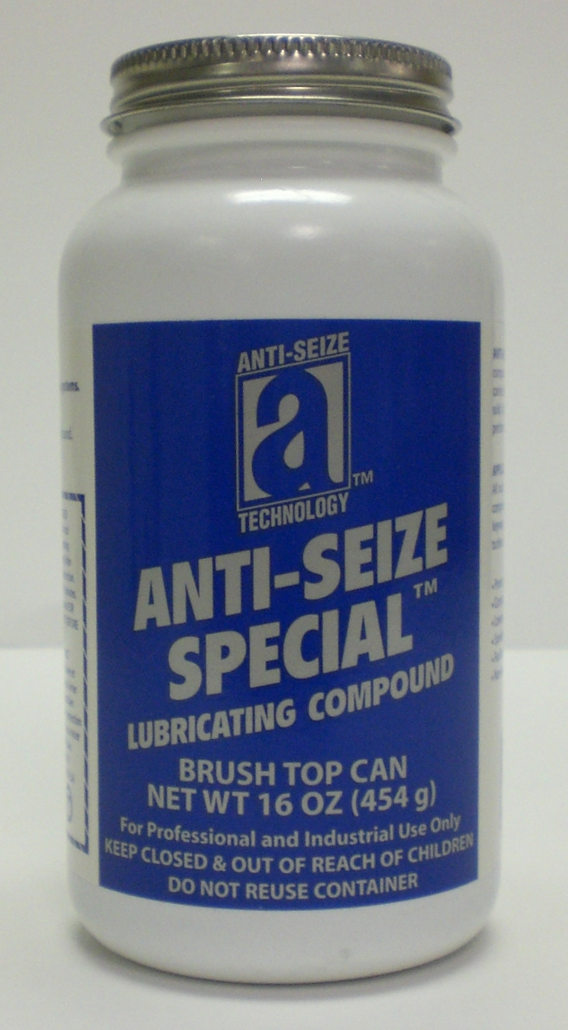 18018- Anti-seize 16oz brushtop can.