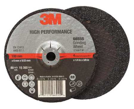 66547-Depressed Center Grinding Wheel, Type 27