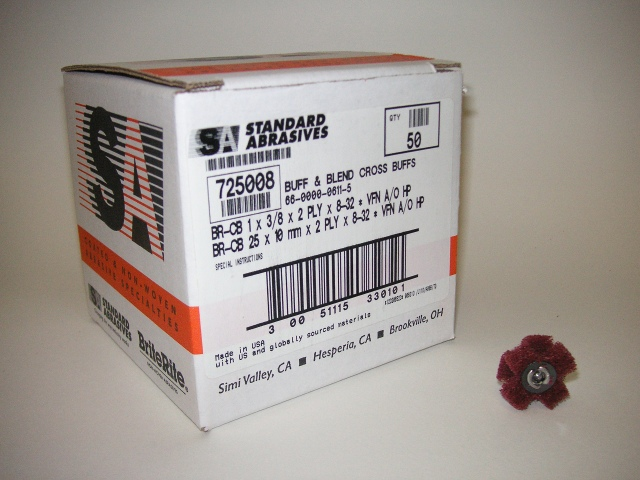 33010-Standard Abrasives Part # 725008 HP Very Fine-Maroon