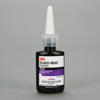 62601-Scotch-Weld TL22-10ml (Loctite 222)