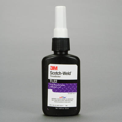 62602-Scotch-Weld TL22-50ml (Loctite 222)