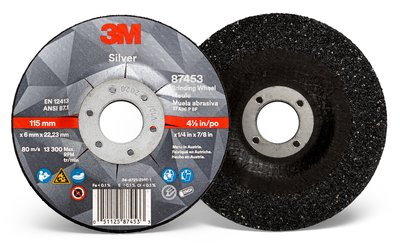 87453- Silver Depressed Center Grinding Wheel, Type 27