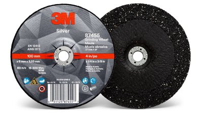 87455-Silver Depressed Center Grinding Wheel, Type 27