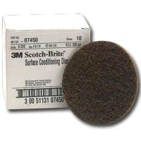 "07450 Coarse-Brown 4"" Surface Cond. Disc."